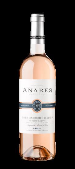 Silueta de la botella de Añares Rosado de Bodegas Olarra