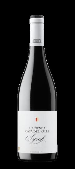 Botella Syrah de Bodegas y Viñedos Casa del Valle