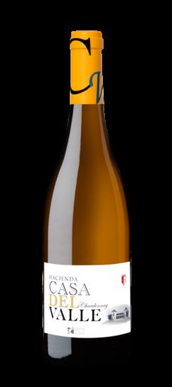 Silueta de Botella de Chardonnay de Bodegas y Viñedos Casa del Valle