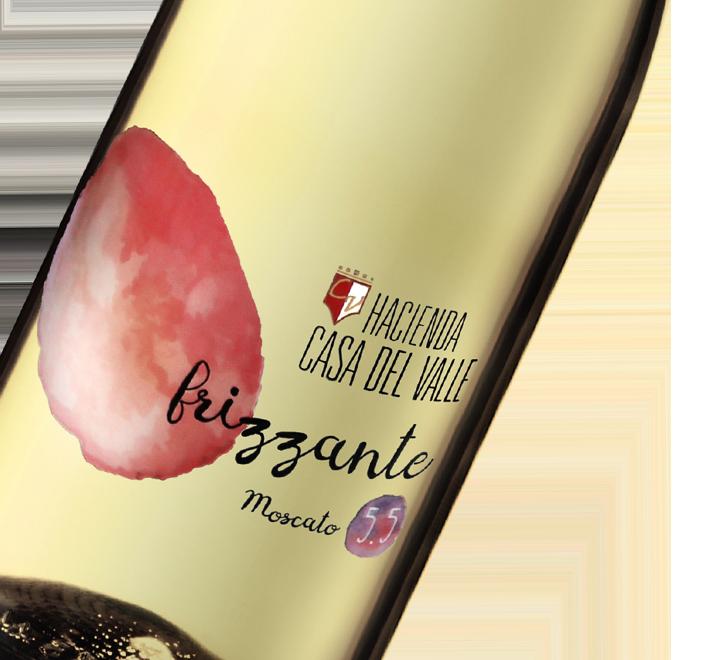 Silueta de Botella de Frizzante de Bodegas y Viñedos Casa del Valle