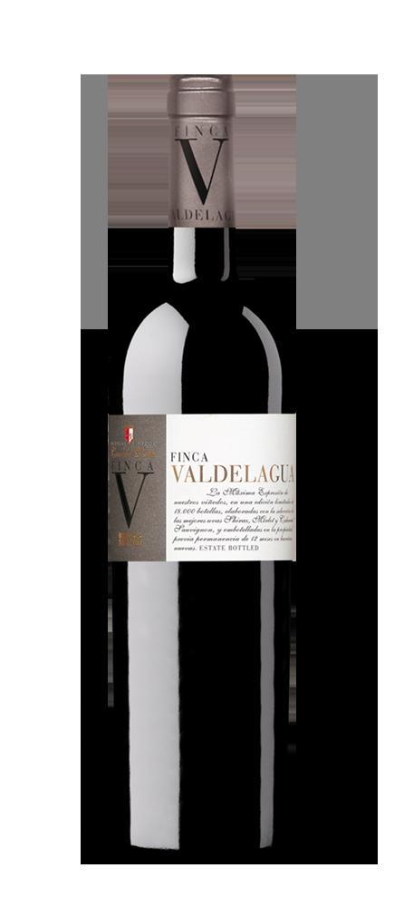 Silueta de botella Finca Valdelagua de Bodgas y Viñedos Casa del Valle