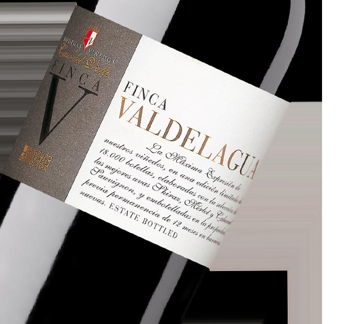 Silueta de la botella Finca Valdelagua de Bodgas y Viñedos Casa del Valle