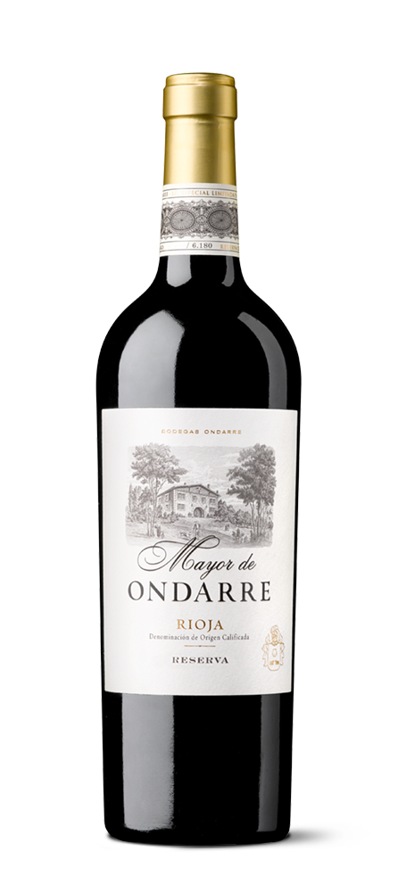 Bottle silhouette of Mayor de Ondarre of Bodegas Ondarre