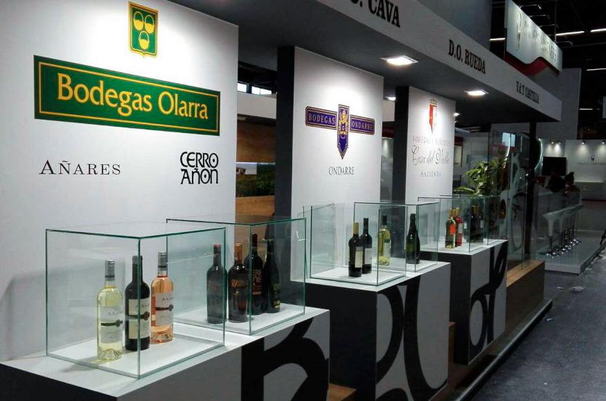Grupo Bodegas Olarra en Vinexpo 2017