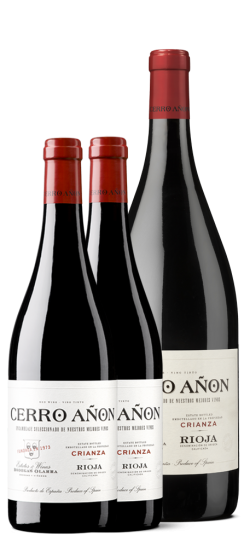 Cerro Añón Crianza en botella tradicional y Magnum