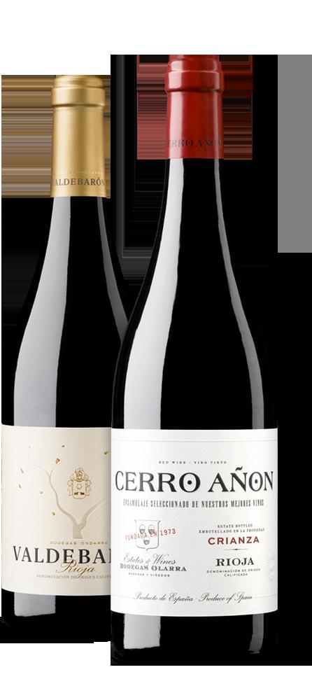 Pack Cerro Añón Crianza y Valdebarón Tinto
