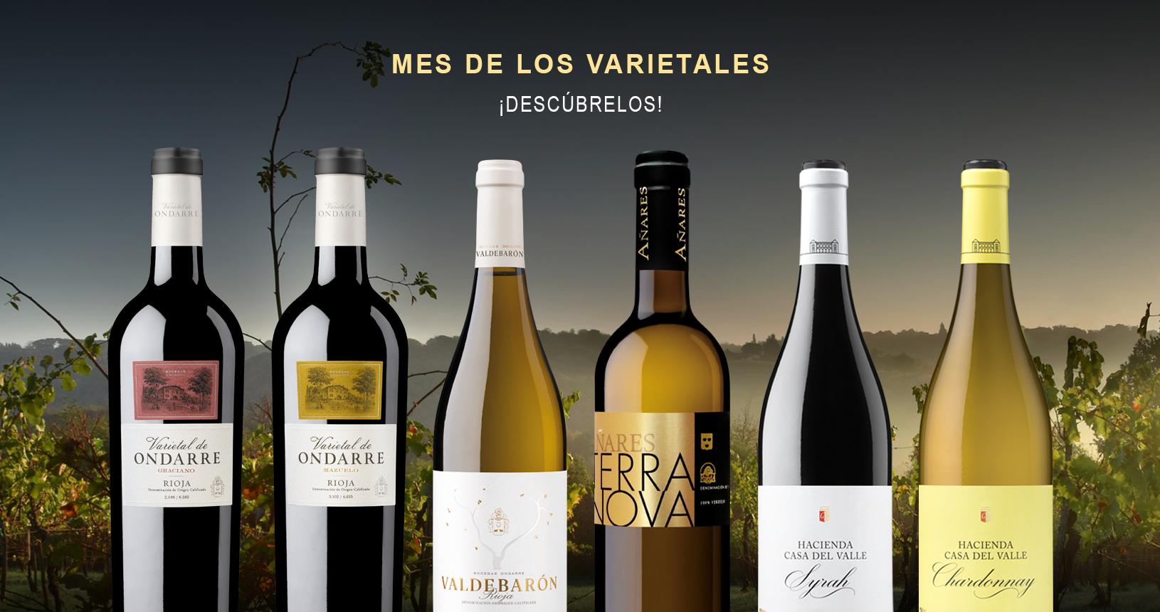 Vinos varietales de Grupo Bodegas Olarra