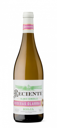 Vino Reciente Blanco Semidulce de Rioja