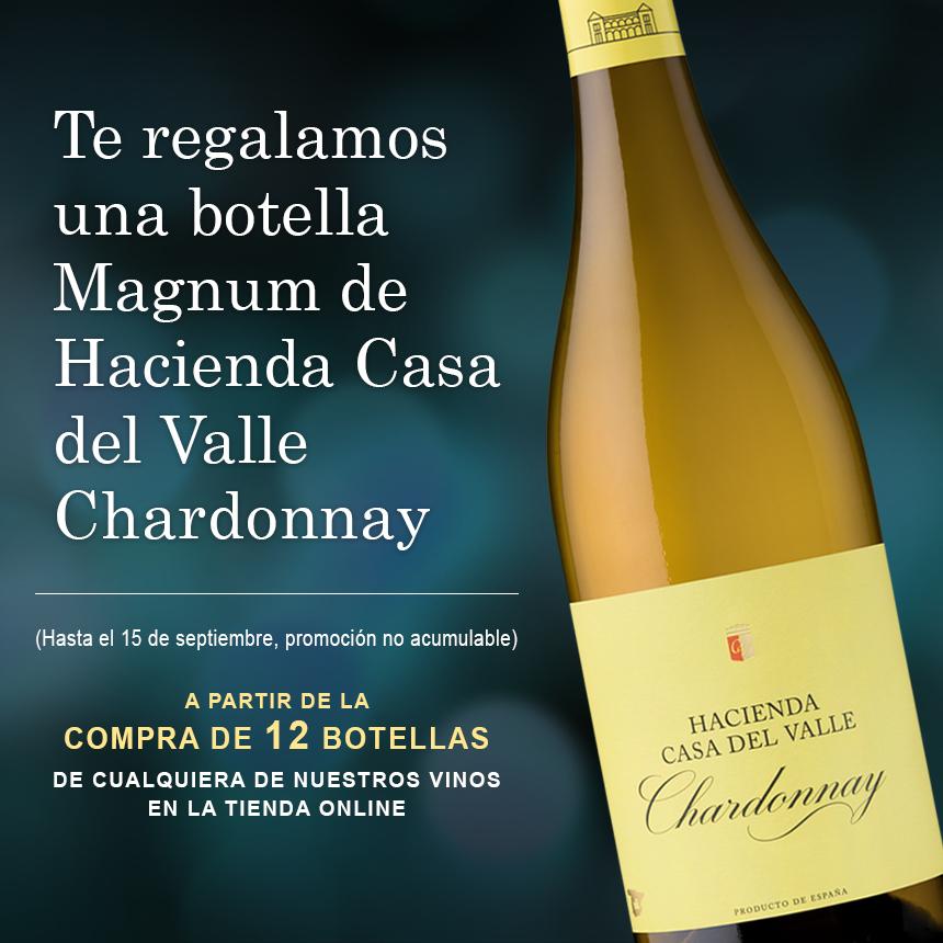Promoción vinos de Olarra con regalo de magnum Chardonnay